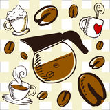 Coffee background 1 Royalty Free Stock Photography