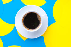 Coffee with on a background Royalty Free Stock Photos