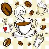 Coffee background 2 Stock Image