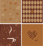 Coffee background Stock Photos