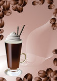 Coffee_background Royalty Free Stock Photo