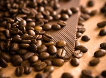 Coffee background abstract Stock Images