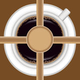 Coffee background 3 Royalty Free Stock Images