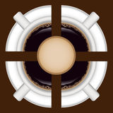 Coffee background 2 Royalty Free Stock Images