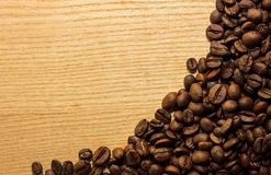 Coffee background. For a card or menu Royalty Free Stock Photo