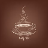 Coffee background. Coffee house concept. Stock Image