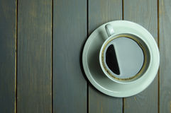 Coffee background with copyspace Stock Photography