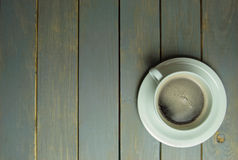 Coffee background with copyspace Stock Photos