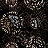 Coffee background ethnic Royalty Free Stock Photo