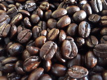 Coffee. Background food day close-up Royalty Free Stock Photo