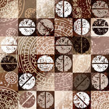 Coffee background with grunge elements Royalty Free Stock Photography