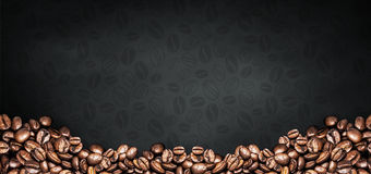 Coffee background Royalty Free Stock Photos
