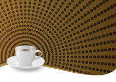 Coffee background Stock Image