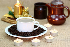 Coffee background Royalty Free Stock Images