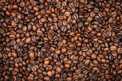 Coffee background. Photo of a background from coffee grains royalty free stock photo