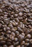 Coffee background, roasted beans texture stock photos