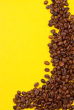 Coffee Background. roasted coffee beans Stock Photo