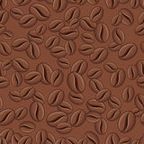 Coffee Background - Seamless Vector Pattern Stock Photos