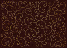 Coffee background with swirl line. Stock Photo