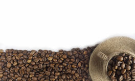 Coffee background or texture concept Royalty Free Stock Image