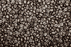 Coffee background. Vintage color coffee background. Texture Royalty Free Stock Image