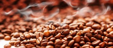 Free Coffee Background With Beans, Coffee Roasting Royalty Free Stock Photos - 111572588