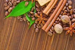Coffee backgrounds Royalty Free Stock Images
