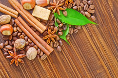 Coffee backgrounds Stock Image