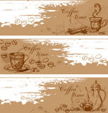 Coffee backgrounds Royalty Free Stock Image