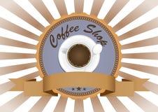 Coffee badge Stock Photos