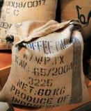 Coffee bag stock photography