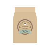 Coffee bag Stock Images
