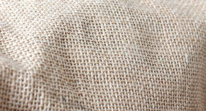 Coffee bag textile Royalty Free Stock Images