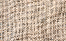 Coffee bag textile Royalty Free Stock Photography