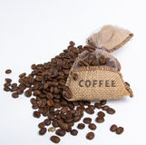 Coffee bag Royalty Free Stock Image