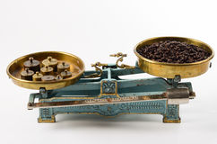 Coffee in balance. Stock Image