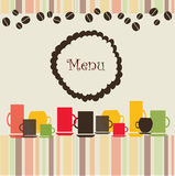 Coffee Banner Royalty Free Stock Photography