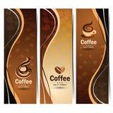 Coffee banner Stock Photos