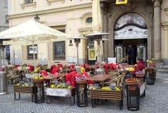 Coffee bar in Prague Royalty Free Stock Image