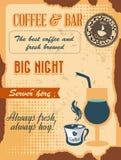 Coffee and bar Stock Photos