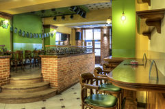 Coffee Bar And Pub Interior Royalty Free Stock Image