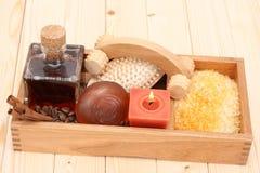 Coffee bath Stock Photography