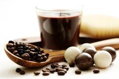 Coffee bath Stock Image