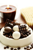 Coffee bath Royalty Free Stock Photo