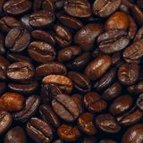 Coffee beams background Stock Photography