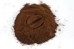Coffee bean. Symbol on white background Royalty Free Stock Image