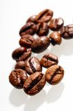 Coffee bean. On white background Royalty Free Stock Image