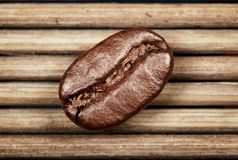 Coffee bean. On the mat background Royalty Free Stock Image