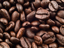 Coffee Bean Background 2. Coffee beans as a background with entire frame in focus Royalty Free Stock Photos
