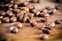 Coffee bean. S with focus on one Stock Photography